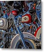 Harley Pair Metal Print
