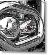 Harley Reflections Metal Print