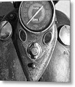 Harley Speedometer Metal Print
