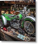 Harley Trike Metal Print