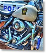 Harleys In Cincinnati 2 Metal Print