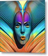 Harmonious Arrangement Metal Print