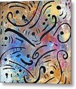 Harmony And Rain Metal Print