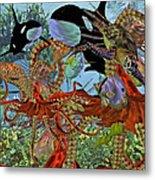Harmony Under The Sea Metal Print