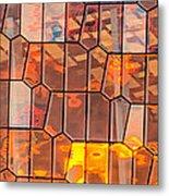 Harpa Sunset - Reykjavik Iceland Abstract Photograph Metal Print