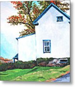 Harper's Ferry Hill House Metal Print