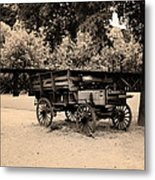 Harpers Ferry Wagon Metal Print
