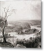Harpers Ferry, West Virginia, From The History Of The United States, Vol. II, By Charles Mackay Metal Print