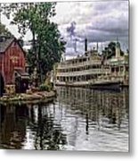 Harpers Mill Metal Print