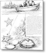 Harper's Weekly, 1881 Metal Print