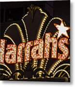 Harrahs - Las Vegas Metal Print