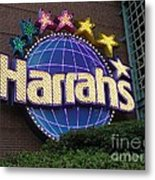 Harrahs Of New Orleans Metal Print