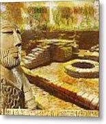 Harrappa Unesco World Heritage Site Metal Print by Catf