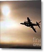Harrier Sunset  Metal Print