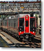 Harrison Station Express Metal Print