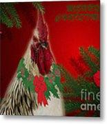Harry Christmas Wishes Metal Print