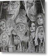 Harry Potter Montage Metal Print by Mark Harris