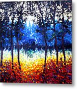 Hart Of The Magic Forest Metal Print