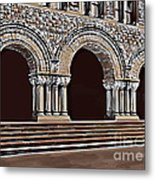 Harvard  Entrance To Law School   C1900 Metal Print by Andrzej Szczerski