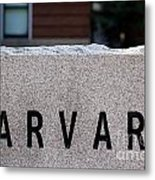 Harvard Metal Print