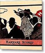 Harvard Scores 1905 Metal Print