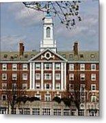 Harvard University Moors Hall Metal Print