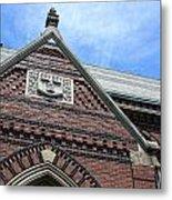 Harvard Veritas Metal Print