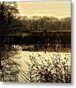 Harvest 2o Metal Print by Anthony Bean