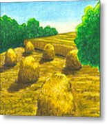 Harvest Gold Metal Print
