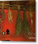Harvest Of Herbs Metal Print