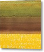 Harvest Original Painting Metal Print