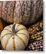 Harvest Still Life Metal Print