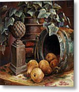 Harvest Time Metal Print by Gini Heywood