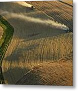 Harvest Time Metal Print by Latah Trail Foundation