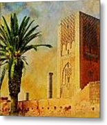 Hassan Tower Metal Print