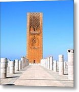 Hassan Tower Rabat Metal Print