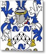 Hasset Coat Of Arms Irish Metal Print