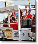 Hastings Carnival Queen Metal Print