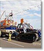 Hastings Lifeboat Metal Print