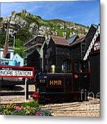 Hastings Miniature Railway  Metal Print