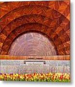 Hatch Memorial Shell Metal Print by Susan Cole Kelly