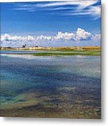 Hatches Harbor Metal Print by Bill Wakeley