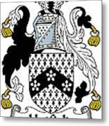Hatfield Coat Of Arms Irish Metal Print