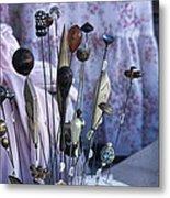 Hatpins  Metal Print