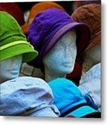 Hats For Sale Metal Print