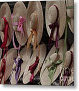 Hats In Colonial Williamsburg Metal Print