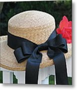 Hats Off To Summer Metal Print