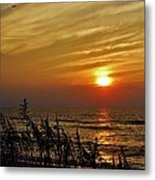 Hatteras Island Sunrise 1 7/31 Metal Print