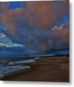 Hatteras Island Sunrise 1 9/10 Metal Print