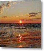 Hatteras Island Sunrise 2 7/30 Metal Print